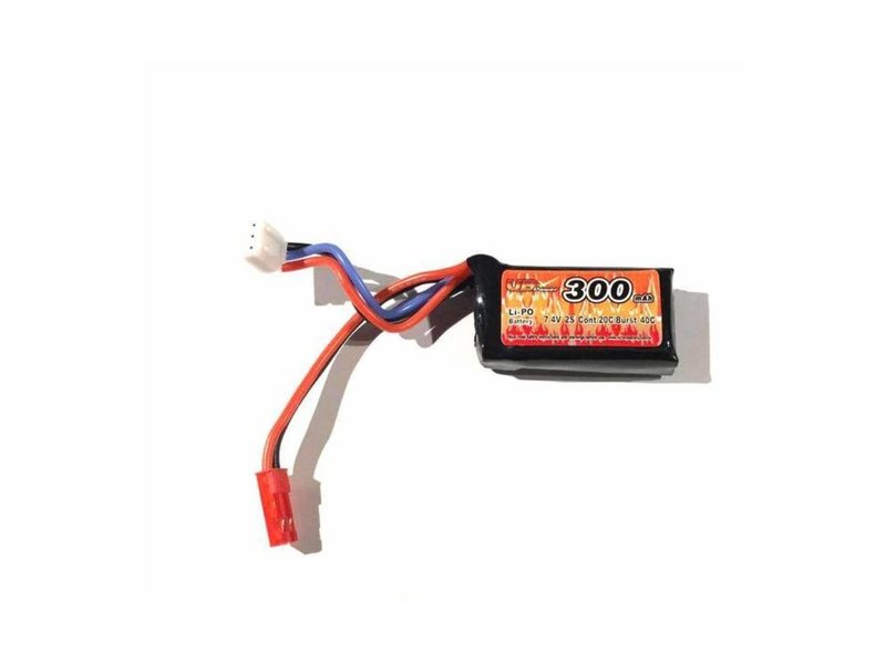 VB Power FCU 7.4V 300mAh HPA LiPo Battery