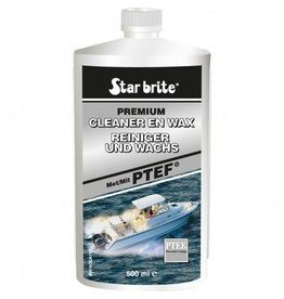 Star brite Starbrite Cleaner & Wax PTEF 500ml