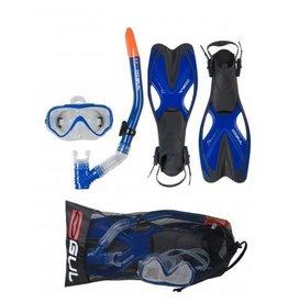 Gul Gul Taron  Junior snorkelset met flippers