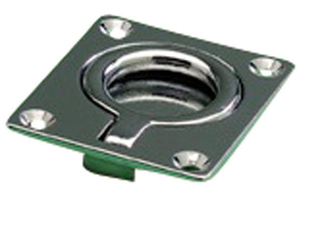 Talamex LUIKRING KOPER CHROOM   50x60mm