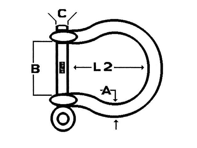 Lankhorst Taselaar RVS harpsluiting