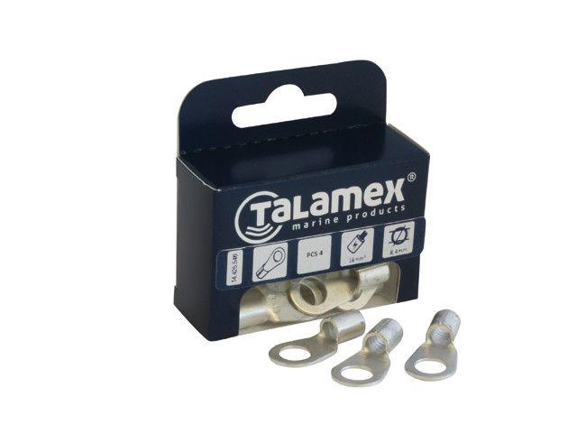 Talamex KABELOOG Gat 8mm 4st  16mm2