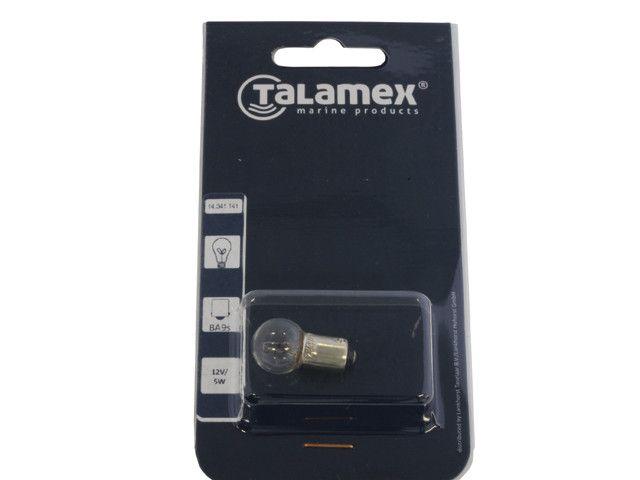 Talamex Gloeilamp 12V 2W BA9s