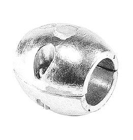 Talamex Schroefas anode aluminium 25mm