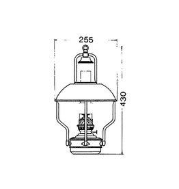 Lankhorst Taselaar CLIPPERLAMP MESSING 8207/O