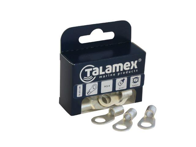 Talamex KABELOOG Gat 10mm 2st  25mm2