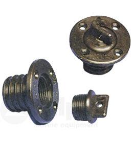 Allpa Lensplug compleet 25mm gatmaat zwart