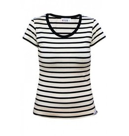 Breton Stripe Breton Stripe Lady Shirt Short Sleeve