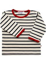 Breton Stripe Breton Stripe Button Shirt Baby
