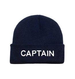 """Nauticalia Navy gebreide Muts """"Captain"""""""