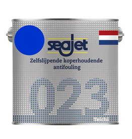Seajet Seajet 023 koperhoudende antifouling 2,5ltr blauw