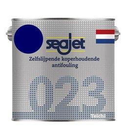 Seajet Seajet 023 koperhoudende antifouling 2,5ltr navy