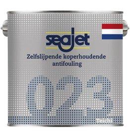 Seajet Seajet 023 koperhoudende antifouling 2,5ltr off-white