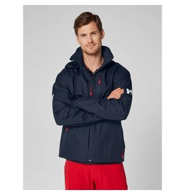 Helly Hansen HH Crew hooded Midlayer jacket navy
