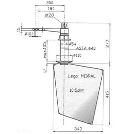Allpa Bronzen Roer Type 14 / 10P