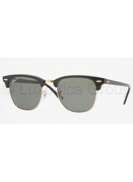 Ray-Ban Clubmaster - RB3016 901/58 Gepolariseerd