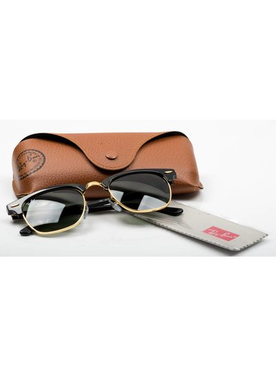 Ray-Ban Clubmaster - RB3016 W0365 | Ray-Ban Zonnebrillen | Fuva.nl