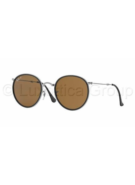 Ray-Ban Round Metal Folding - RB3517 019/N6 Gepolariseerd