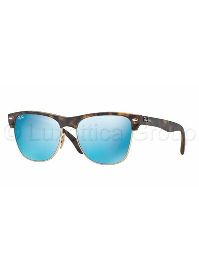 Ray-Ban Clubmaster Oversized - RB4175 609217 | Ray-Ban Zonnebrillen | Fuva.nl