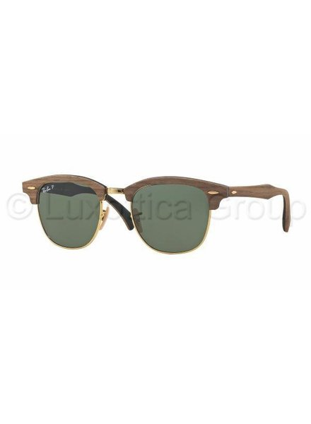 Ray-Ban Clubmaster M Gepolariseerd - RB3016M 118158