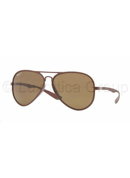 Ray-Ban Aviator Liteforce - RB4180 881/83 Gepolariseerd