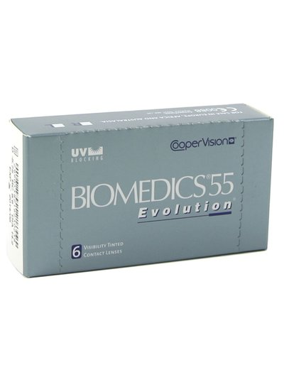 Biomedics 55 Evolution 6-pack - Coopervision