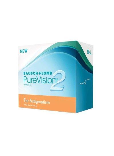 Purevision 2 HD for Astigmatism 6-Pack van B&L bestelt u makkelijk en snel bij Fuva.nl