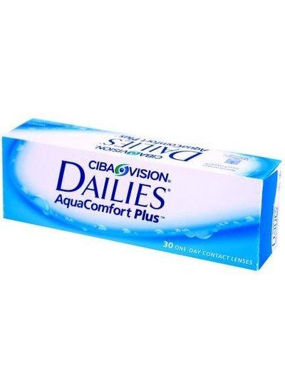 Dailies AquaComfort Plus 30-Pack van CIBA Vision bestelt u makkelijk en snel bij Fuva.nl