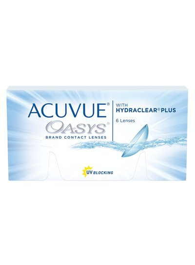 Acuvue Oasys with Hydraclear Plus 6-Pack van J&J bestelt u makkelijk en snel bij Fuva.nl