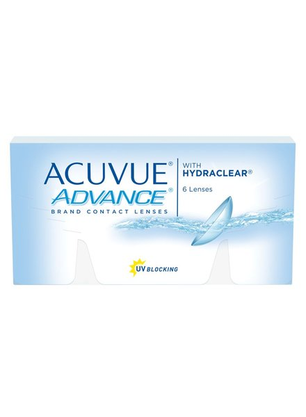 Acuvue Advance with Hydraclear 6-Pack - Johnson & Johnson