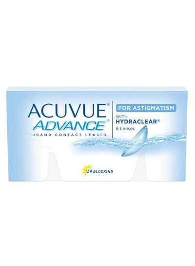 De Acuvue Advance for Astigmatism 6-Pack van J&J bestelt u makkelijk en snel bij Fuva.nl