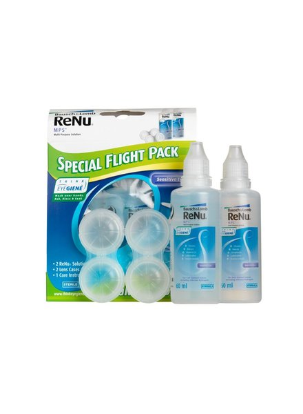 ReNu Multiplus Fresh Lens Comfort Flight Pack