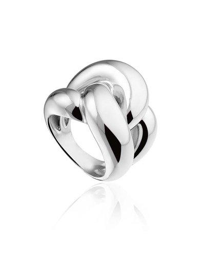 Zilveren ring in knoopvorm | Ringen | Sieraden online bestellen | Fuva.nl