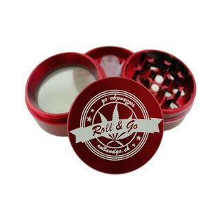 Roll & Go Grinder Rot 40mm