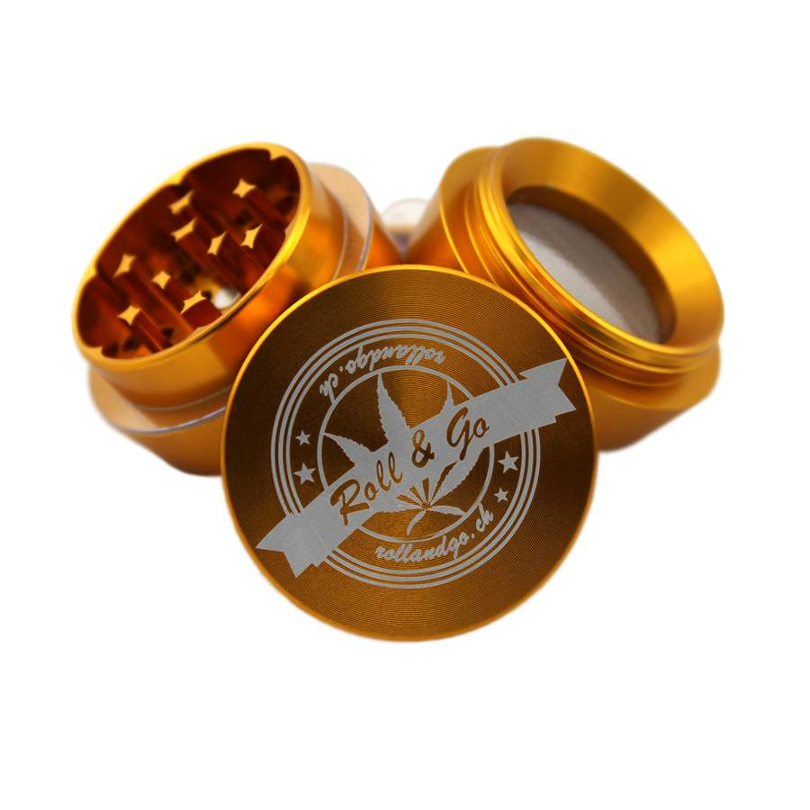 Roll & Go comfort rolling box gold trapez 2.0