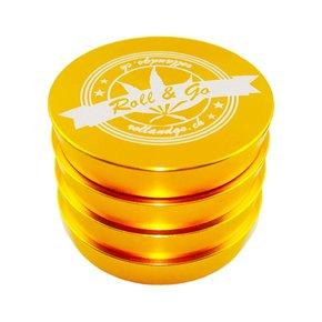 Grinder Gold Trapez 55mm