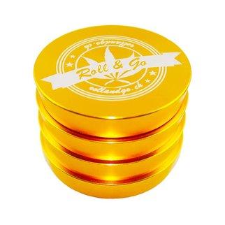 Roll & Go Grinder Gold Trapez 55mm