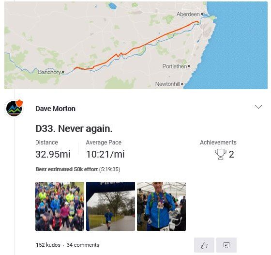 DEESIDE WAY ULTRA (D33)