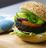 It's Greenish Natural algae burger
