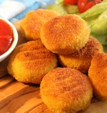 It's Greenish Vegan gouda nuggets