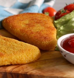 It's Greenish Veganes Gouda-Schnitzel
