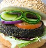 It's Greenish Natürlicher Algenburger