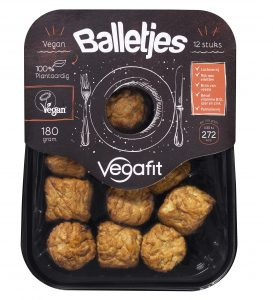 Vegafit                Plantaardige vegan balletjes