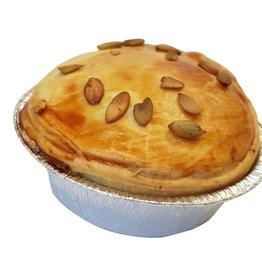 Pom-Pie Vegetarian lentil curry pie