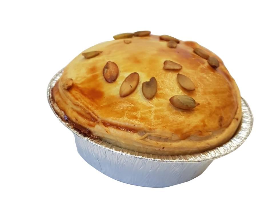 Pom-Pie Vegetarische linzencurry pie hartige taart
