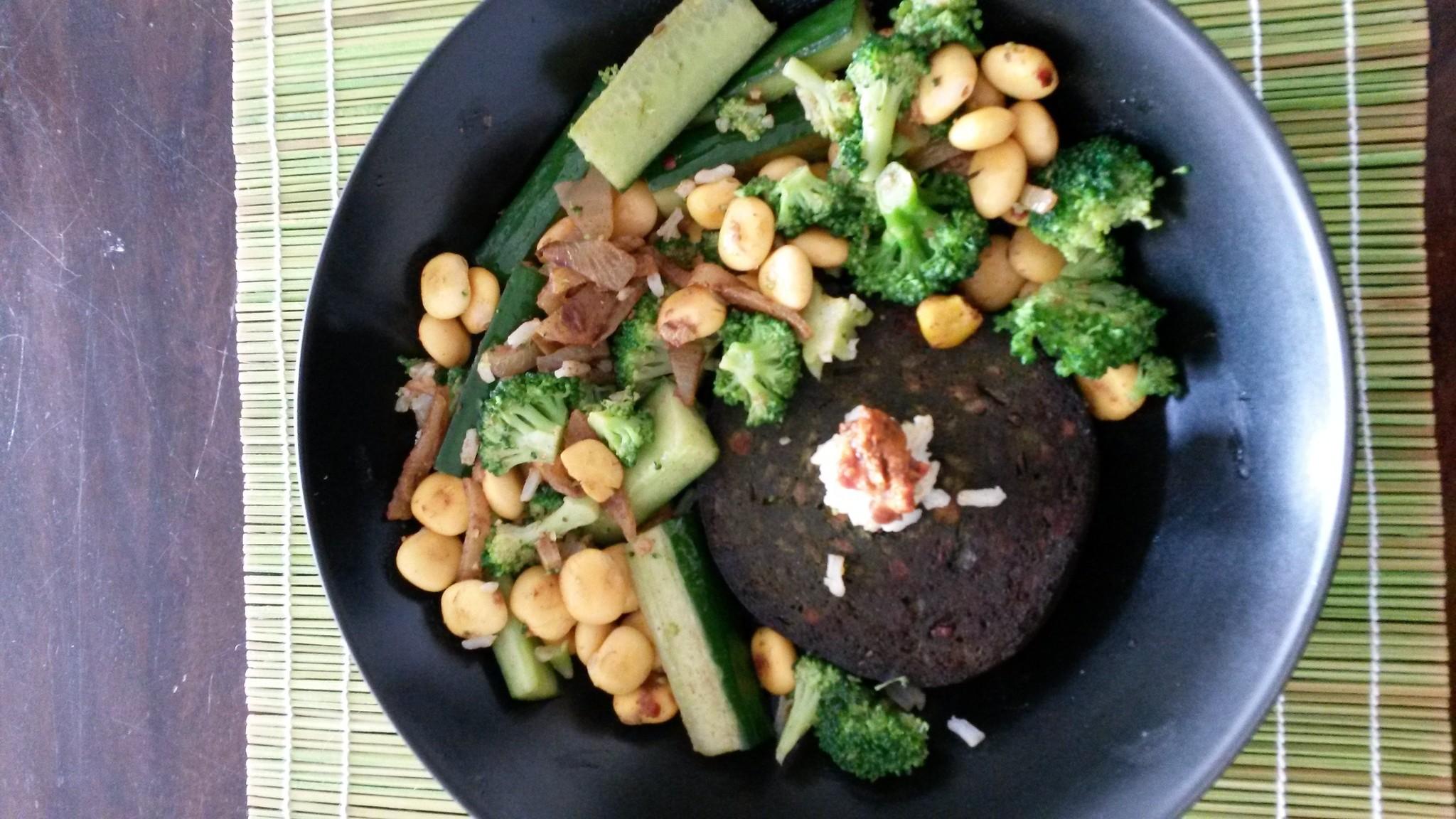 recept algemburger met lupinebonen