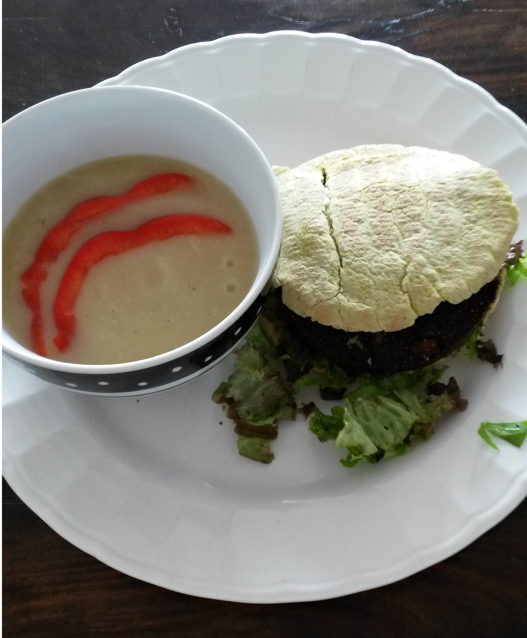 recept algenburger met pastinaaksoep