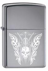 Zippo Aansteker Skull Design 01