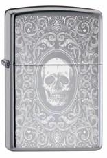 Zippo Aansteker Skull Design 02