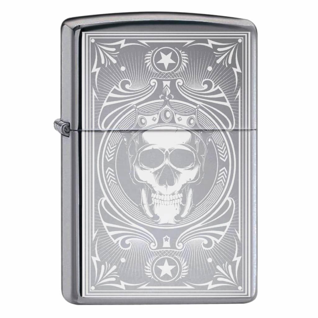 Zippo Aansteker Skull Design 05